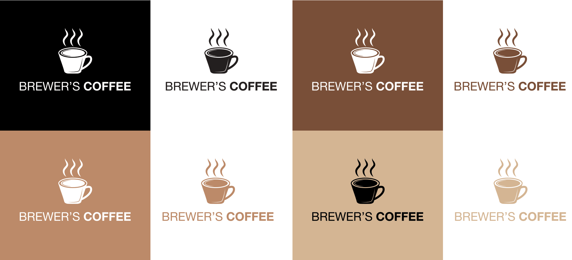 Logo Design Brewer's Coffee