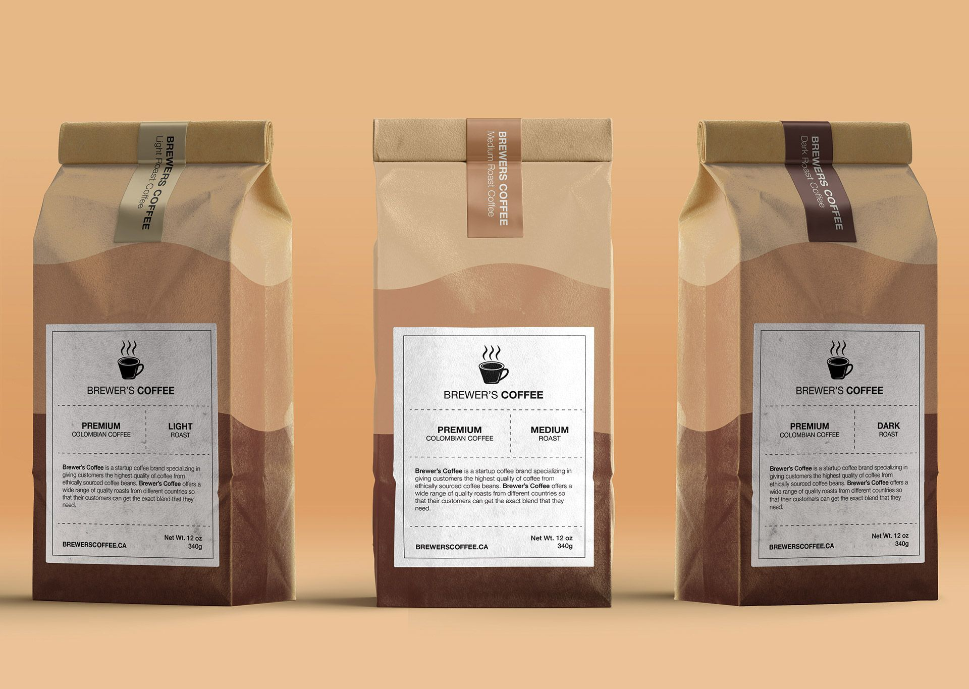 Packaging Design Brewers Coffee
