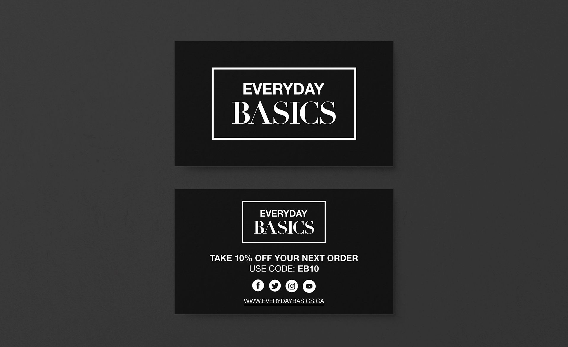 Everyday Basics Logo Design